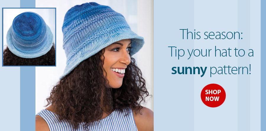 e92f4689a46 AK01319 Bromley Bucket Hat Knit Pattern