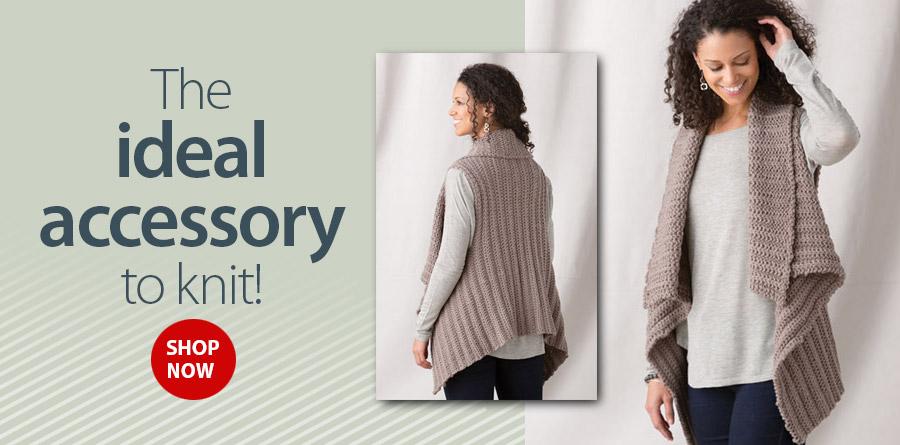 YK01334 Victory Vest Knit Pattern