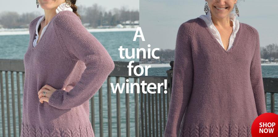 Y810376 Seraphina Tunic Knit Pattern
