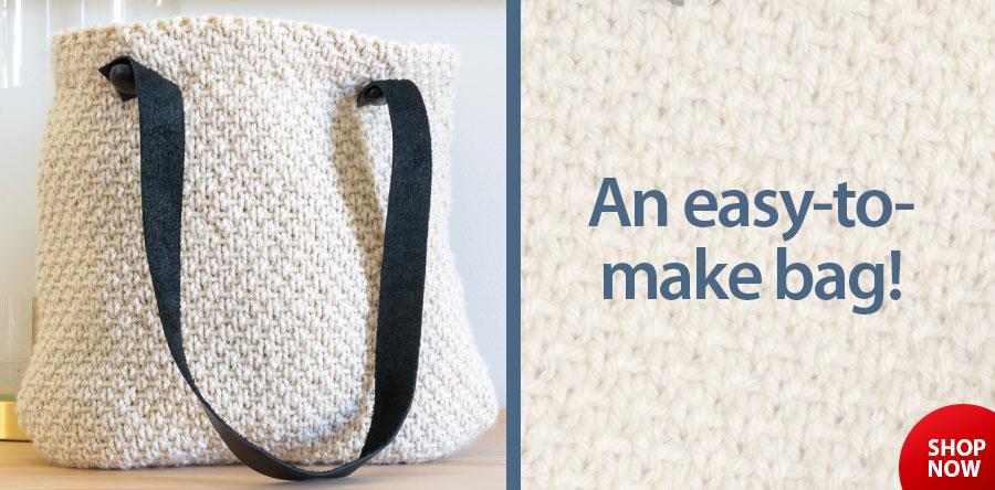 RAK1207 Half Linen Stitch Purse Knit Pattern