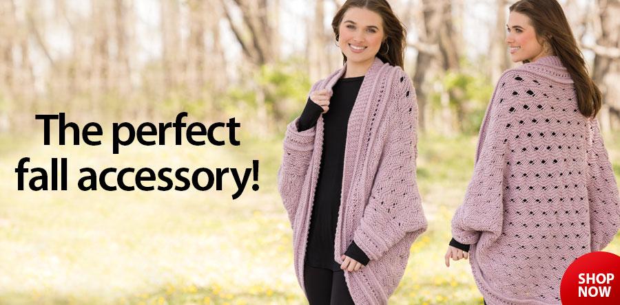 YK01349 Fillory Knit Shrug Pattern