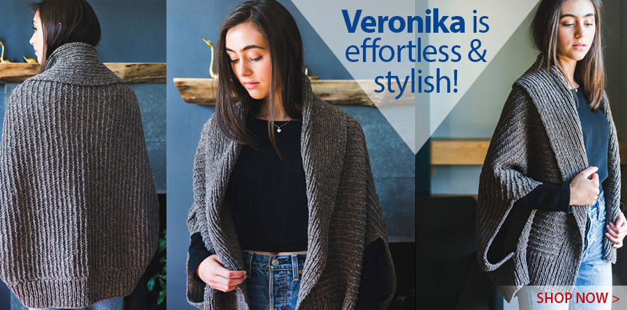 Veronika Cardigan Knit Pattern