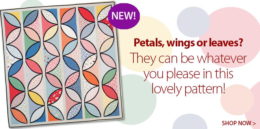 421913 Petal Panels Quilt Pattern