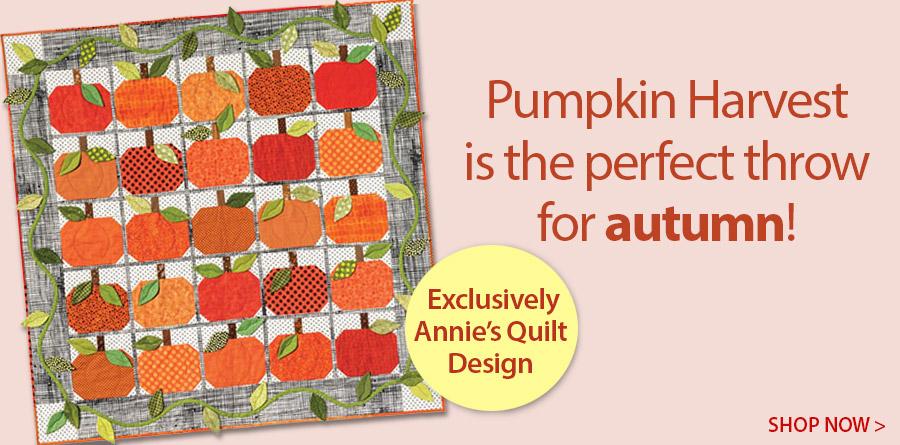 Y886358 Pumpkin Harvest Quilt Pattern