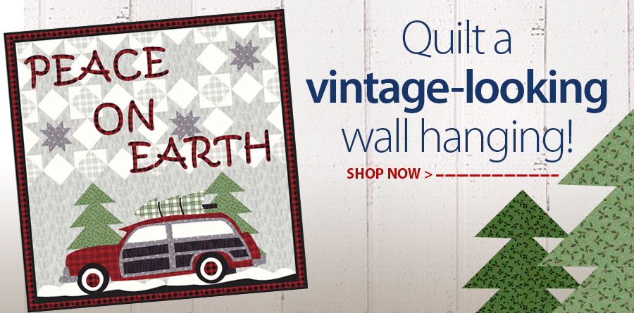 422074 Peace On Earth Wall Hanging