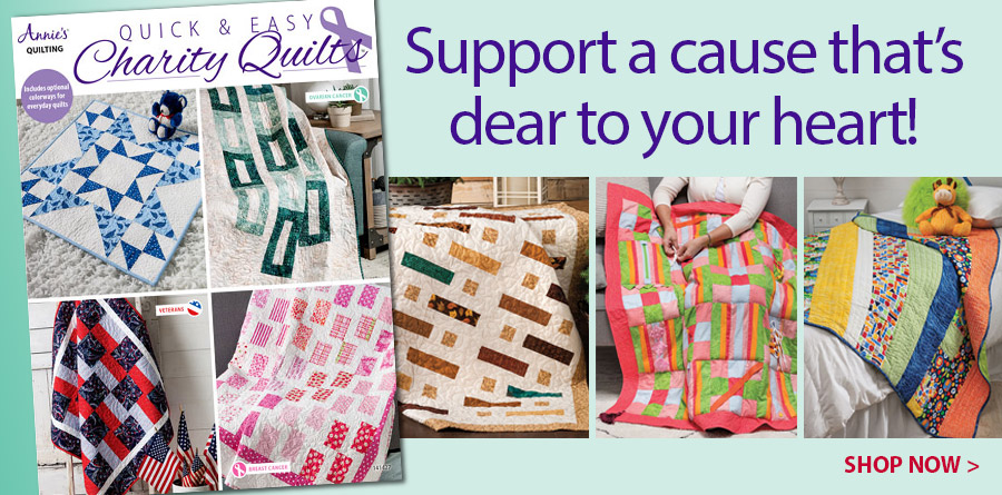 141427 Quick & Easy Charity Quilts