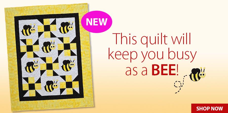 A422136 Bella Bee Quilt Pattern