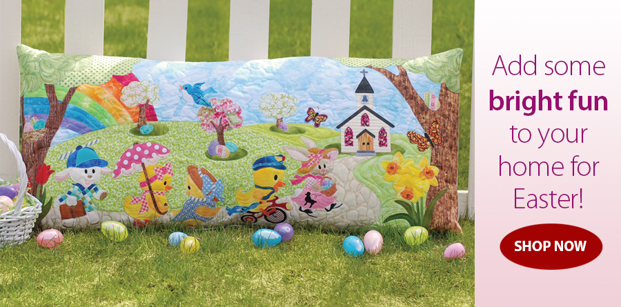 422236 Easter Sunday Pillow Pattern