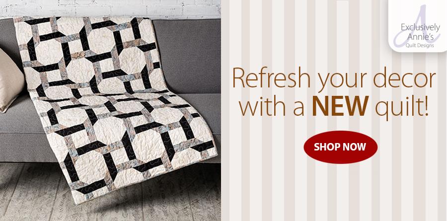 Y886430 Exclusively Annie's Quilt Designs: Links Quilt Pattern