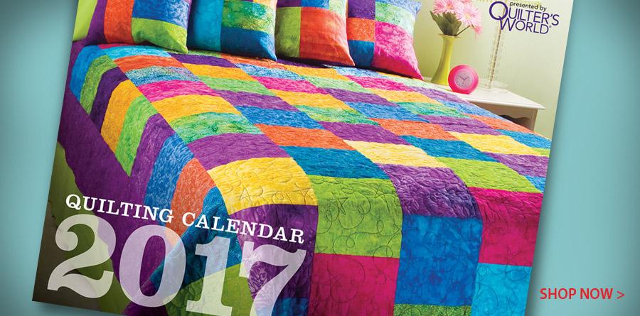 141408 Quilting Calendar 2017