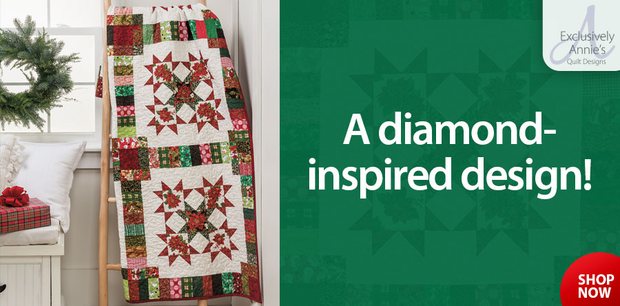 A886549 EXCLUSIVELY ANNIE'S QUILT DESIGNS: Star Studded Quilt Pattern