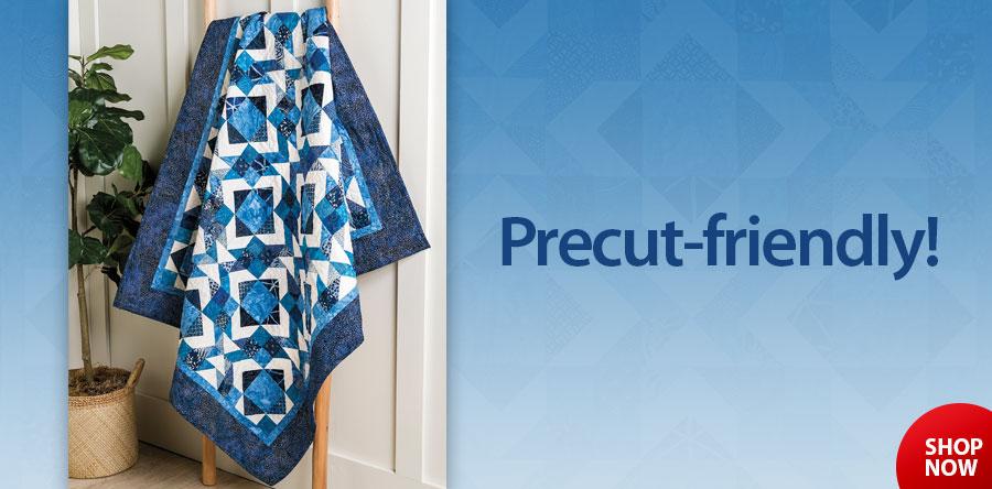 YQ01988 Blueberry Cobbler Quilt Pattern