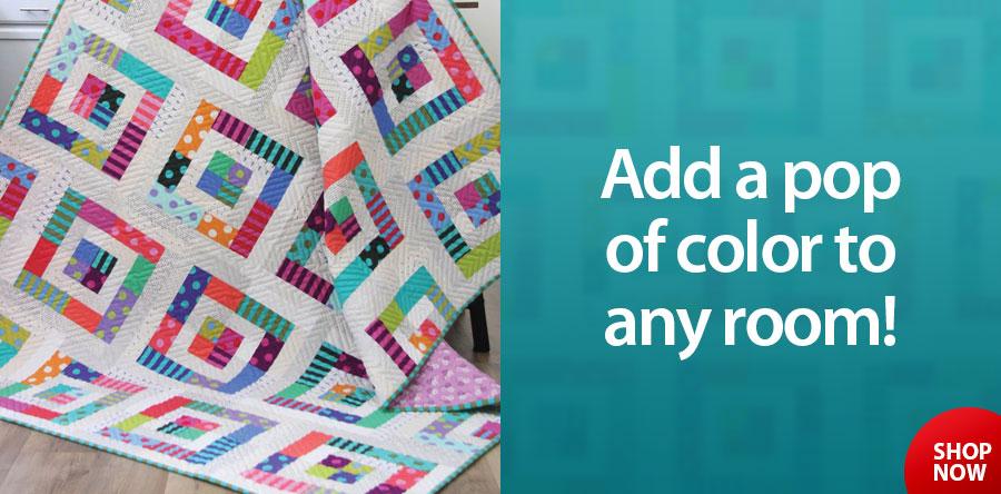 A422725 Color Pop Quilt Pattern