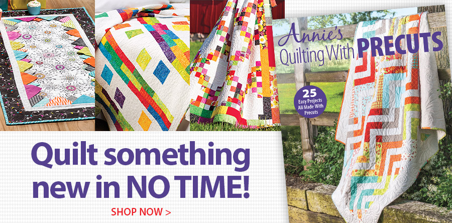 161037 Quilting With Precuts
