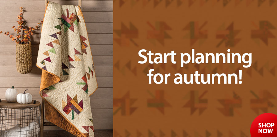 AQ01953 Fall Fancy Quilt Pattern