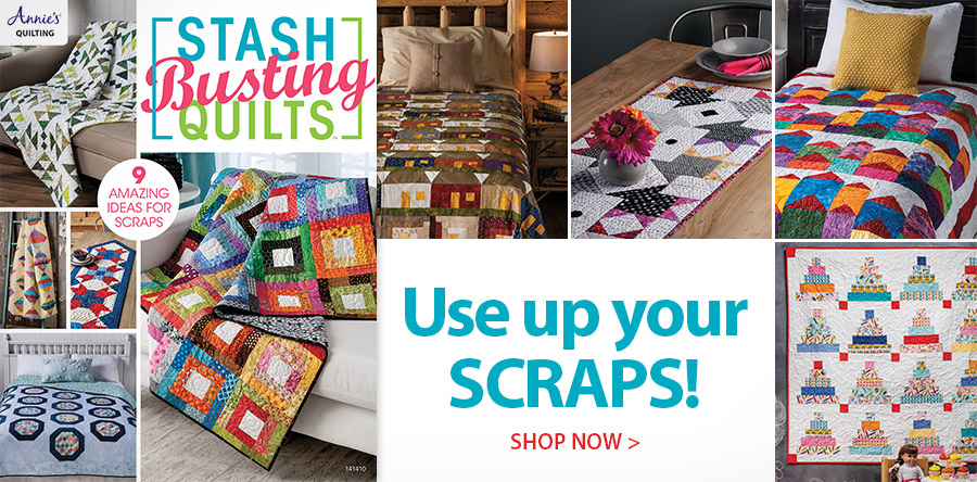 141410 Stash-Busting Quilts