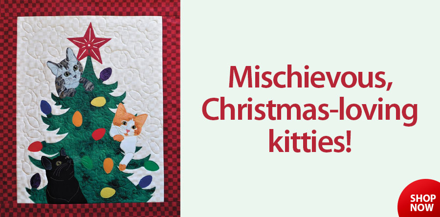 Mischief in the Treetop Quilt Pattern