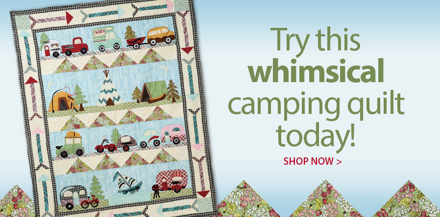 421723 Glamping Gypsies Quilt Pattern