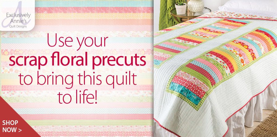 Y886319 EXCLUSIVELY ANNIE'S QUILT DESIGNS: Small Change Quilt Pattern