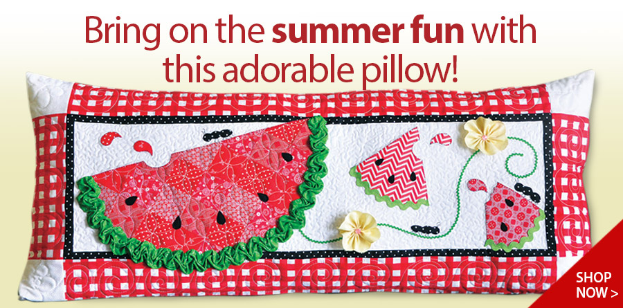 429931 Slice of Summer Bench Pillow Sewing Pattern
