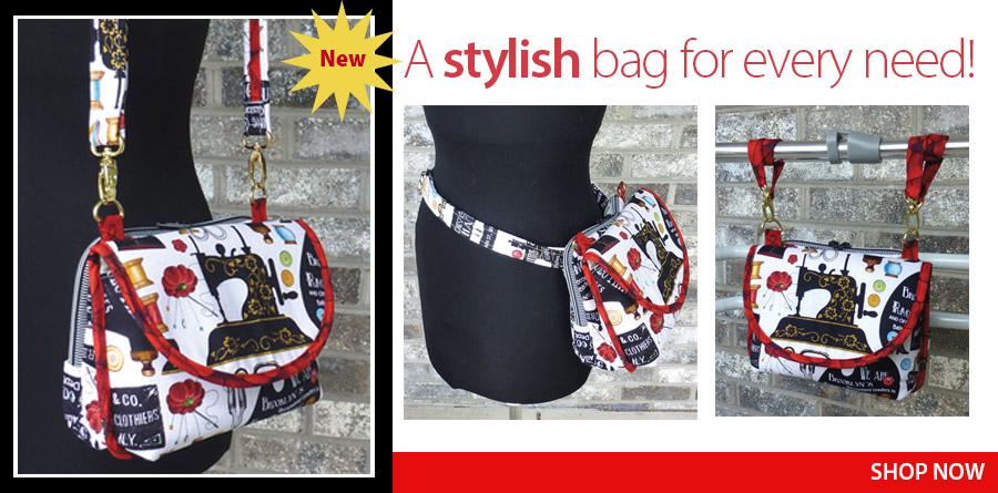 359364 Hip Bag Hybrid Sewing Pattern