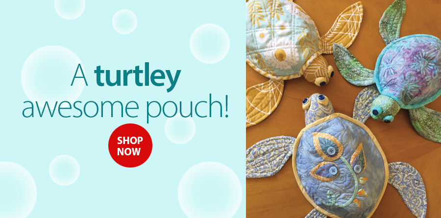 359372 Shell Shelters Pouch Sewing Pattern
