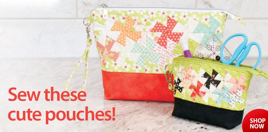 359467 Twisty Zips Pouches Sewing Pattern