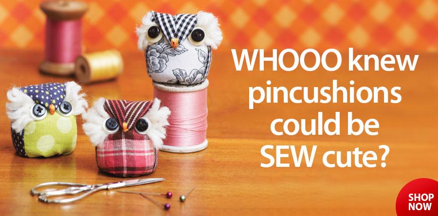 359525 It's a Hoot Owl Pincushion Sewing Pattern