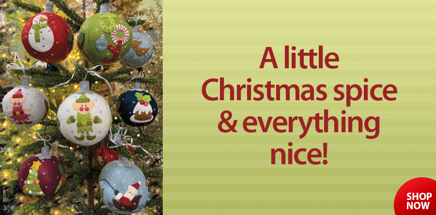 Everything Nice Ornament Sew Kits