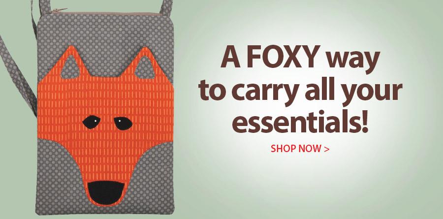 359264 Foxy Pocket Purse Pattern