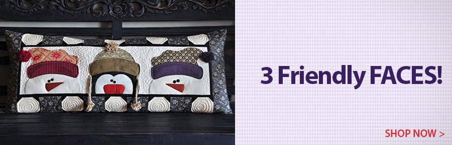 V429417 Whimsy Winter Bench Pillow