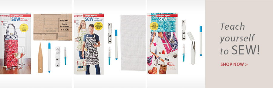 359239 I Taught Myself to Sew Home Accessories Kit