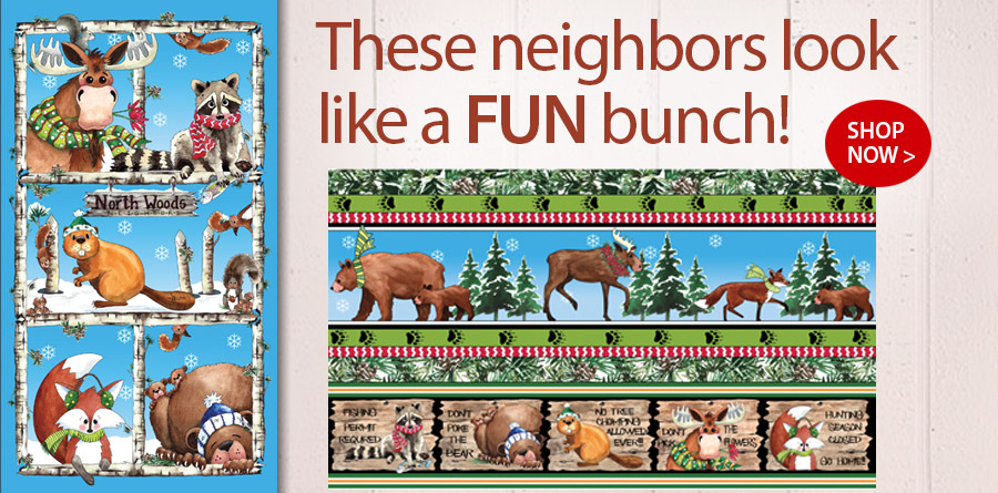 278438 North Woods Neighbor Panel 24