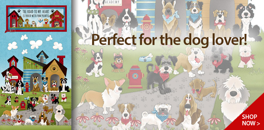 278427 Bue Home is Where the Dog is Banner Panel 24