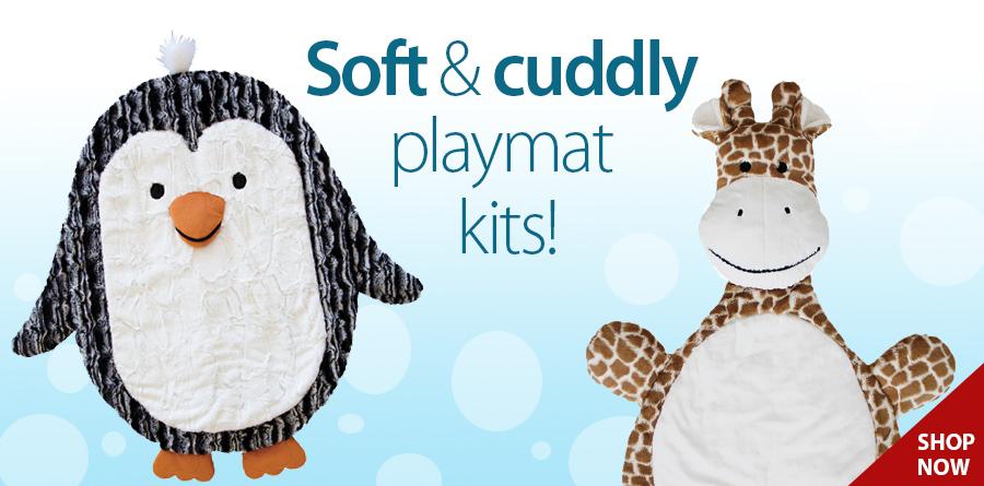 278757 Cuddle Playmat Kit – Penguin