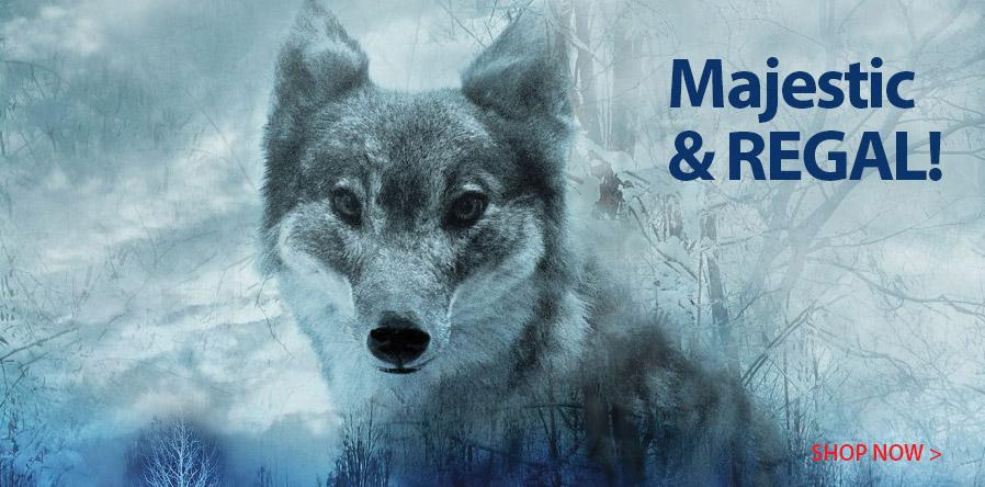 278159 Dakota Wolf Digital Panel