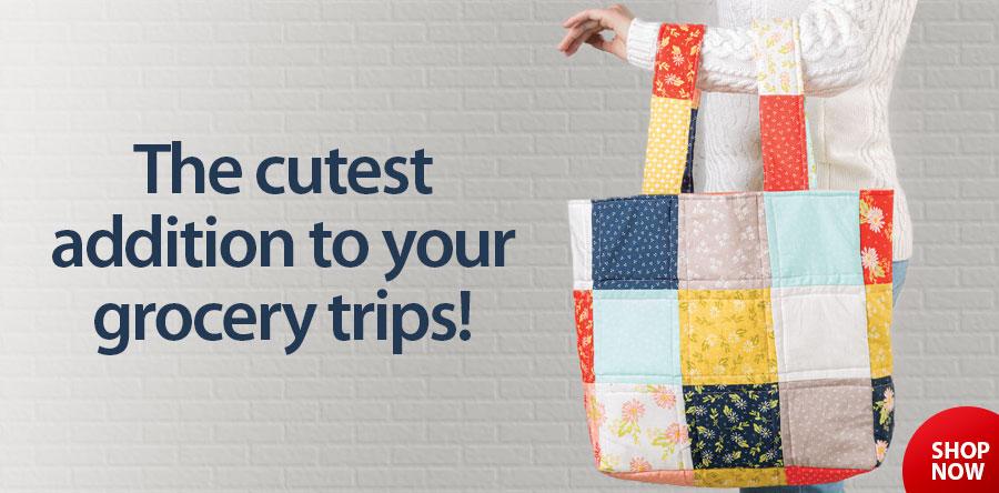 279242 Market Bag Sewing Pattern & Kit
