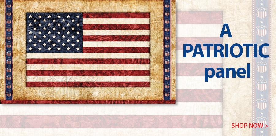 278070 Parchment American Flag