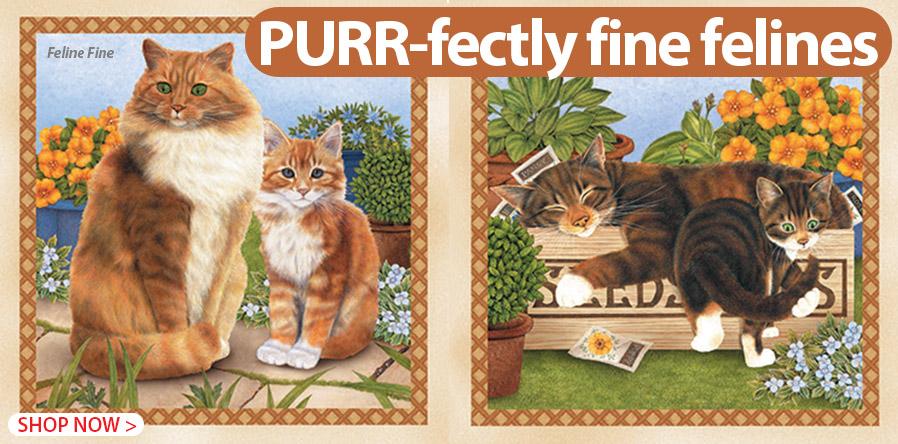 278006 Feline Fine
