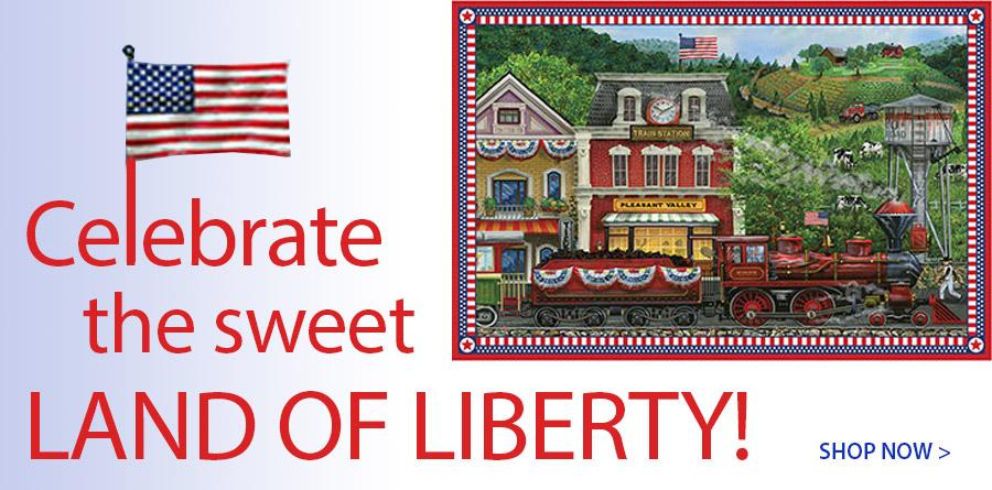 278188 Sweet Land of Liberty Digital Panel - 42