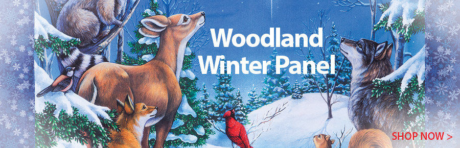 277857 Woodland winter Panel