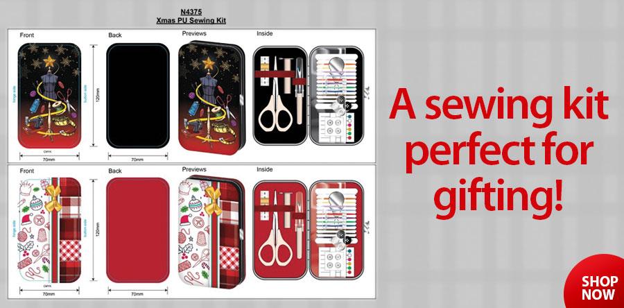 411532 Christmas Sewing Kit