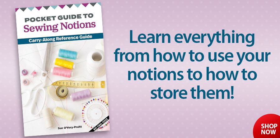 148068 Pocket Guide to Sewing Notions Carry Along Reference Guide Book