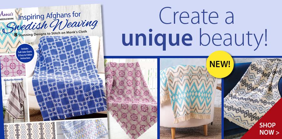 291052 Inspiring Afghans for Swedish Weaving