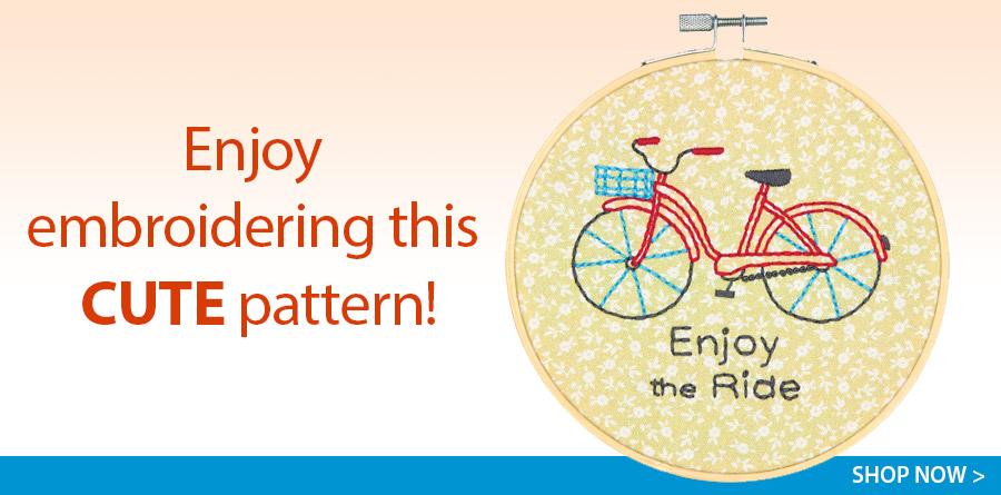 431204 Bike Ride Cross Stitch Kit