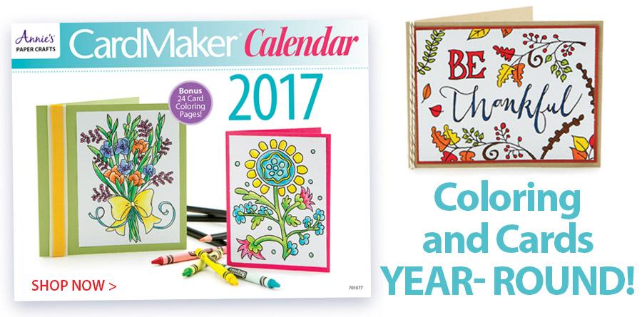 701077 CardMaker 2017 Calendar