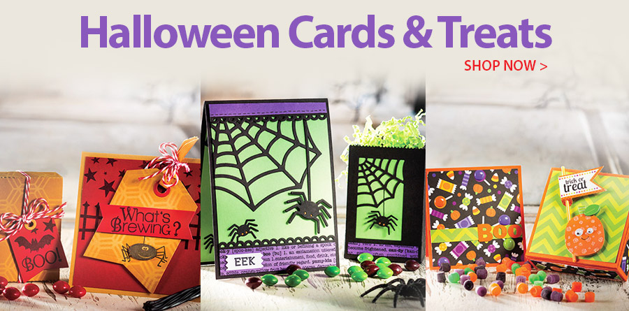 AG01233 Halloween Cards & Treats