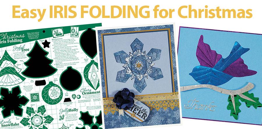 709213 Christmas Iris Folding