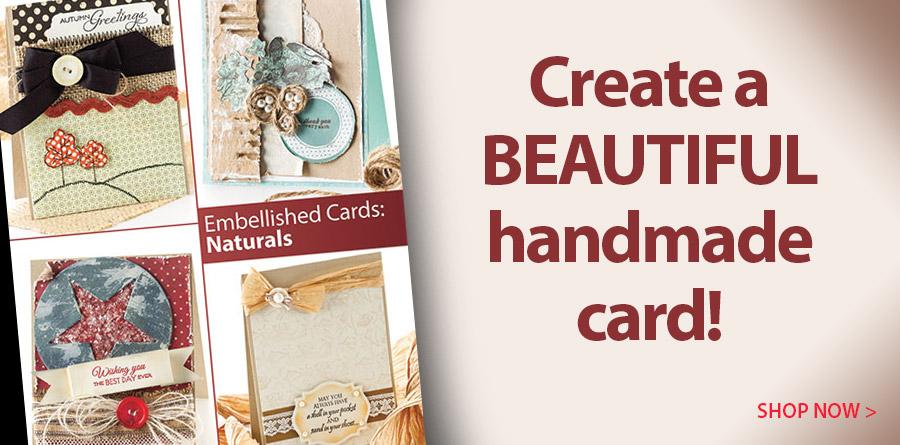 AG01405 Embellished Cards: Naturals