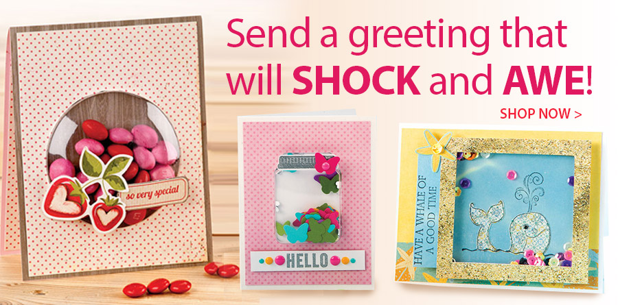 AG01448 Simple Shaker Cards